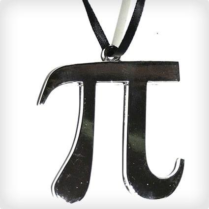 Pi Symbol ornament