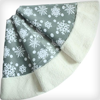 Polar Fleece Snowflake
