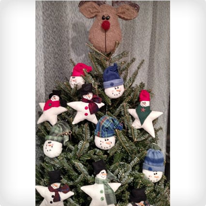 Reindeer Christmas Tree Topper