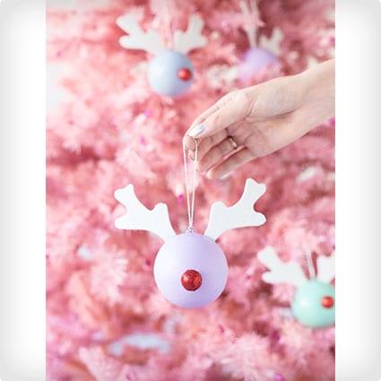 Rudolph Ornaments