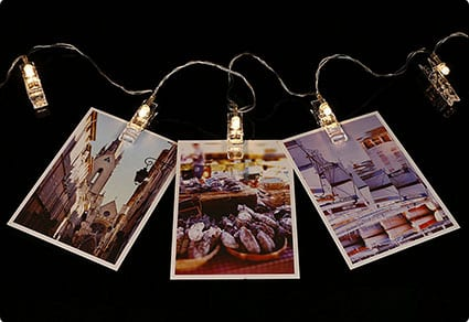 SMAZ LIFE LED Photo Hanging Clips