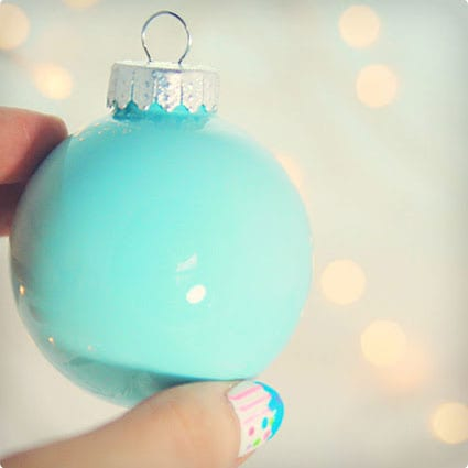 Simple Filled and Painted Ornaments