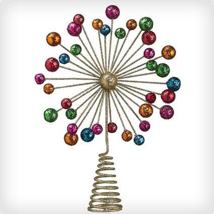 Starburst Christmas Tree Topper