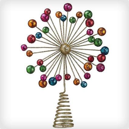 Starburst Christmas Tree Topper