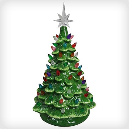 30 Absolutely Adorable Mini Ceramic Christmas Trees Miss