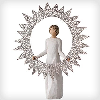 Willow Tree Starlight Angel Tree Topper