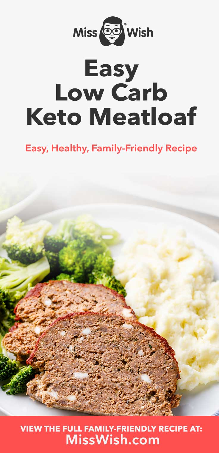 You must try this low carb keto meatloaf. In spite of the fact that it's jam packed full of delicious and healthy ingredients, it's honestly super easy to make and my whole family loves it.