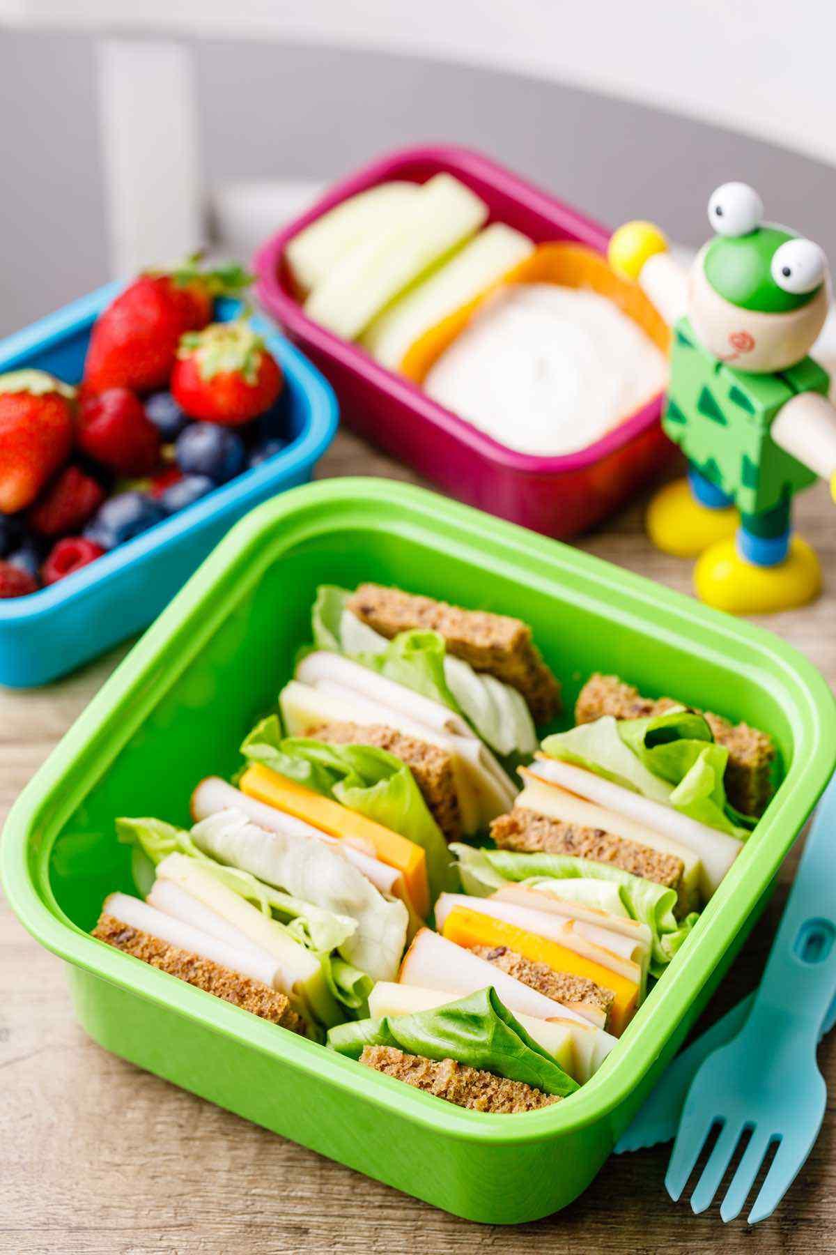 Kids Bento Box Lunch