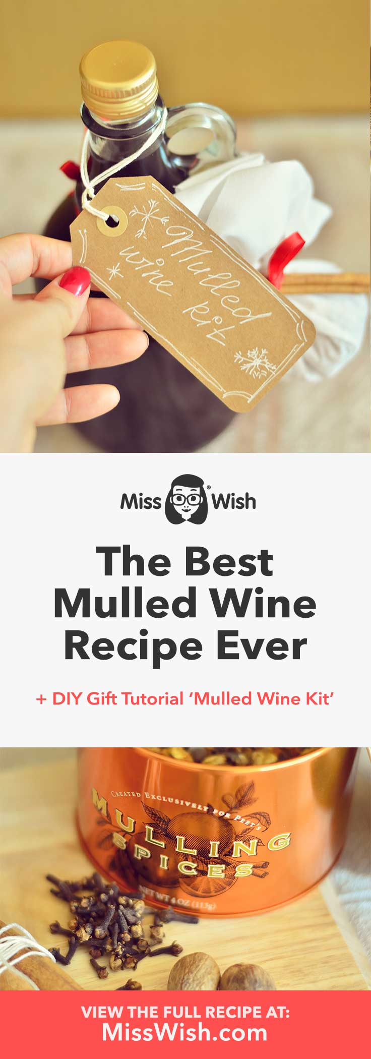 This is the best mulled wine recipe ever!
