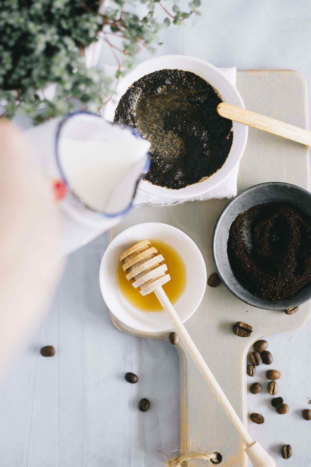 Homemade Coffee Face Mask