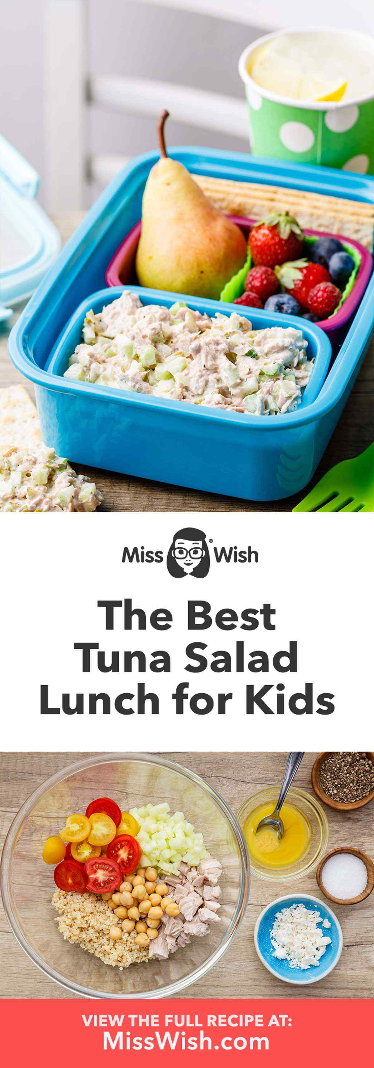 Tuna Salad Lunch for Kids