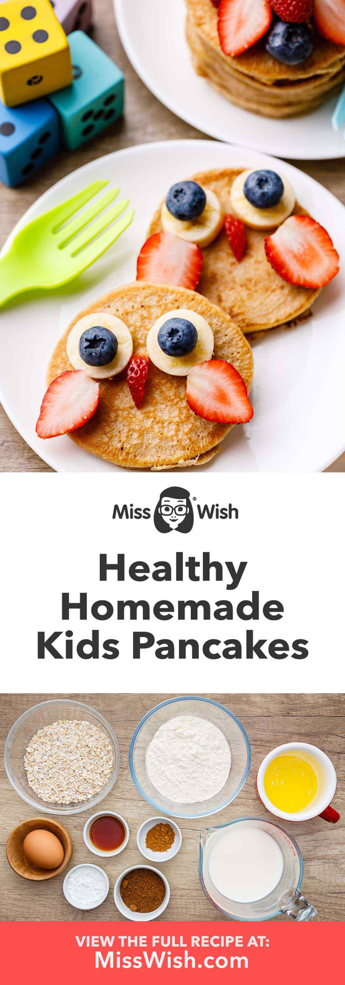 Healthy Protein Pancakes for Kids