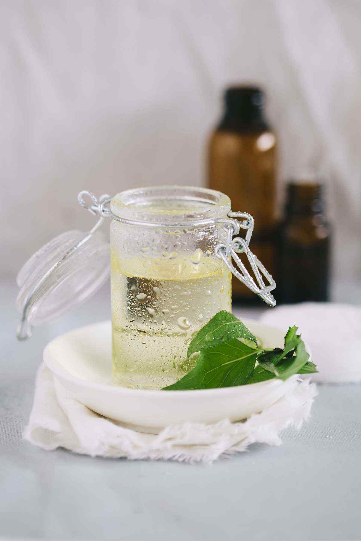 DIY Witch Hazel Eye Makeup Remover