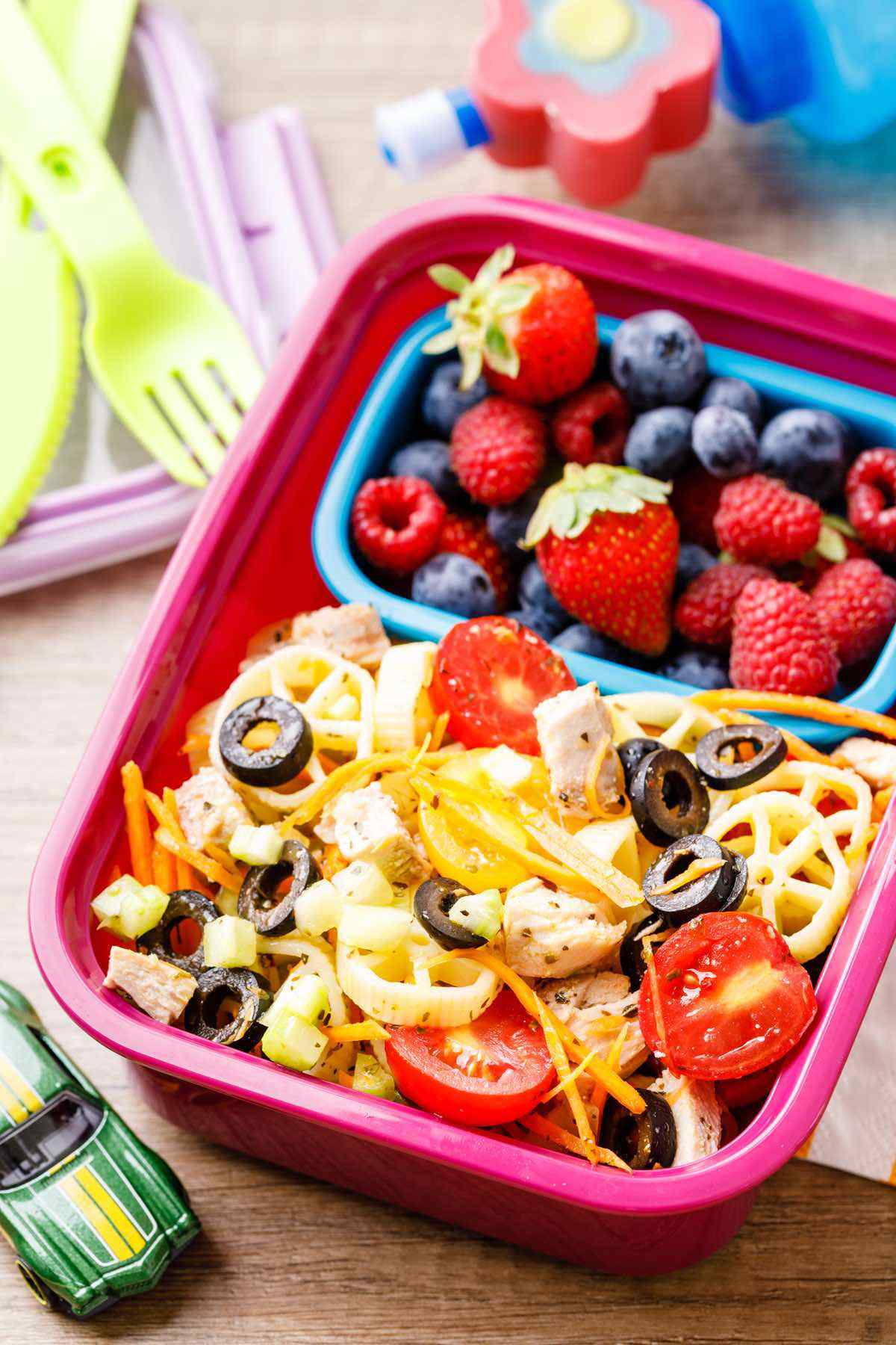 Healthy Chicken Salad for Your Kids Lunchbox