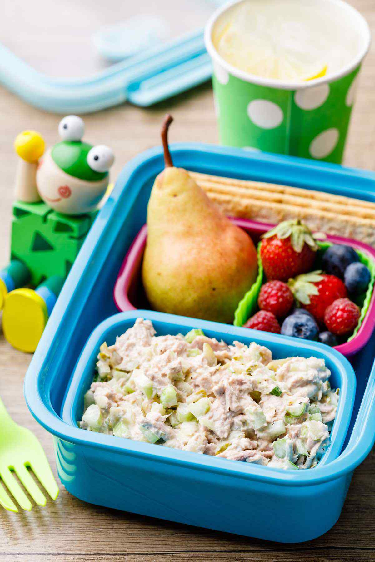 Out of This World Kids Lunchbox Tuna Salad