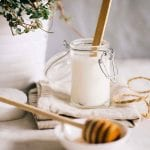 Coconut Kefir Honey Face Mask