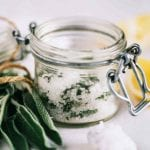 Lemon Sea Salt Scrub