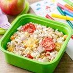High Protein Nut-Free Kids Lunch