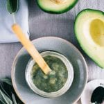 Spirulina Avocado Face Mask