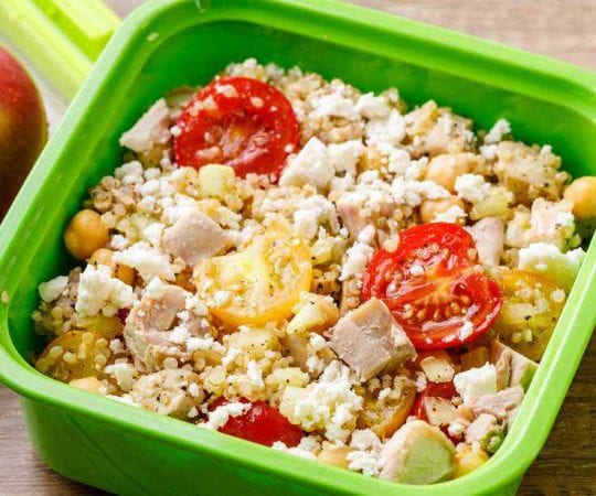 High Protein Nut-Free Kids Lunch