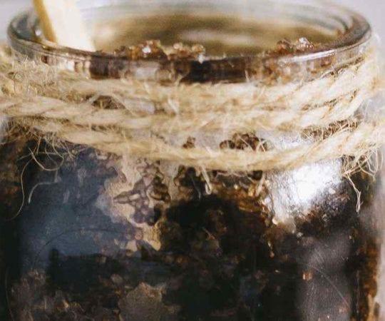 Raw Cacao Powder Brown Sugar Scrub