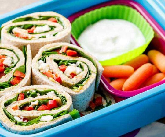 Vegetarian Kids Lunch