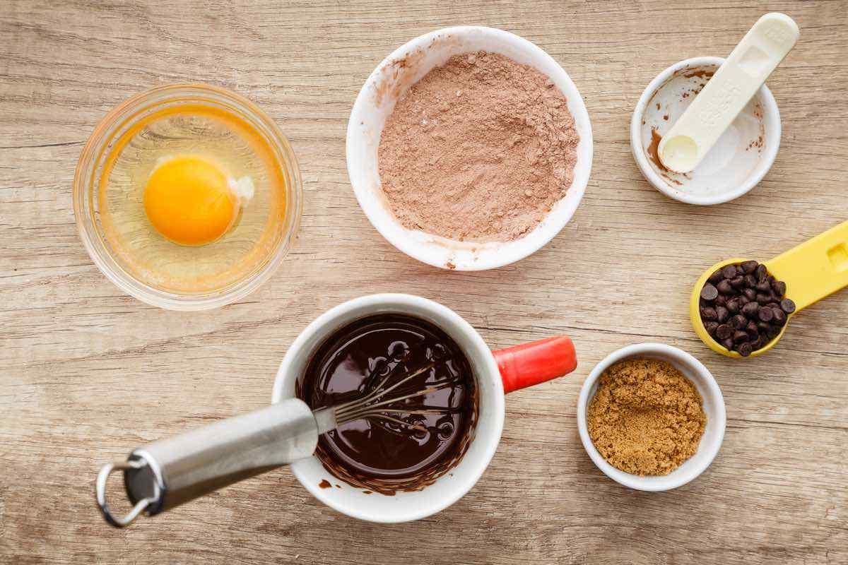 Easy 3-Minute Double Chocolate Mug Cake