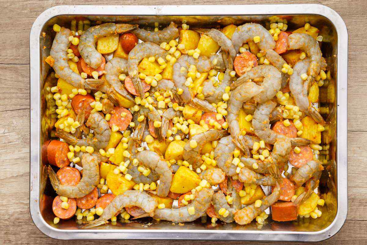 Easy Sheet Pan Shrimp Boil Recipe