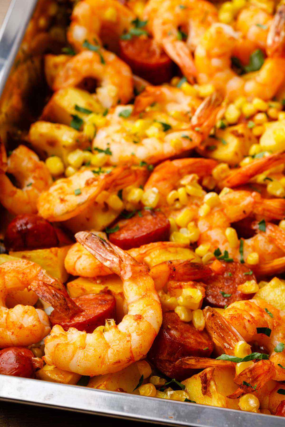 Easy Sheet Pan Shrimp Boil Recipe Miss Wish