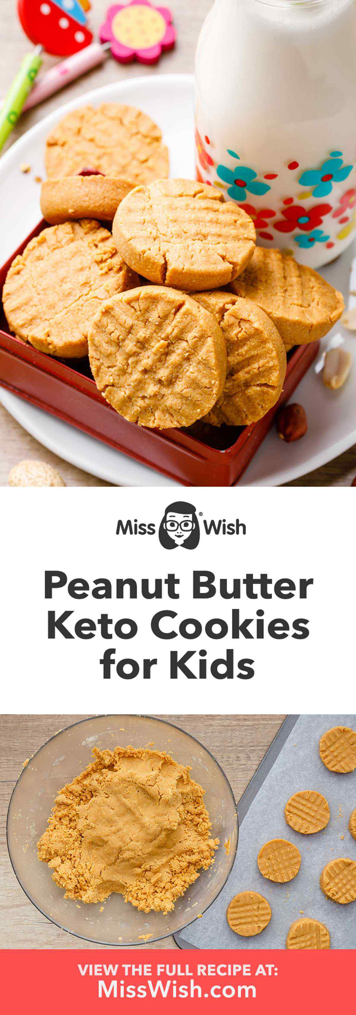 3-Ingredient Peanut Butter Keto Cookies