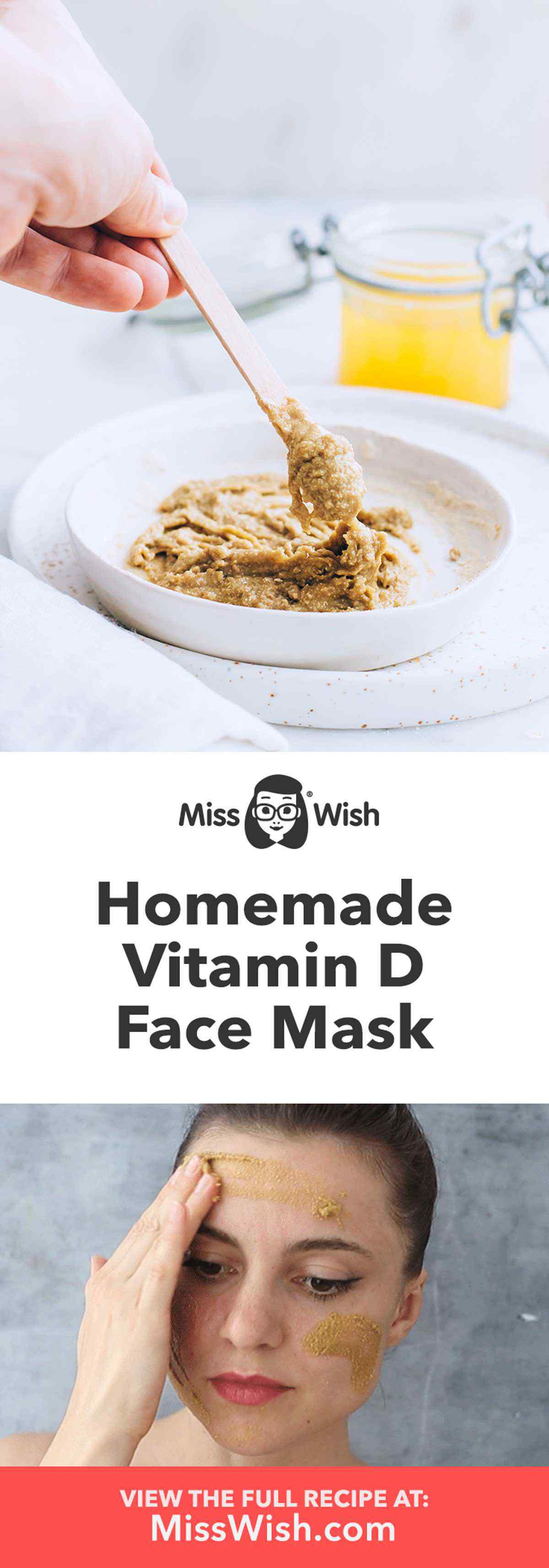 Homemade Vitamin D Face Mask