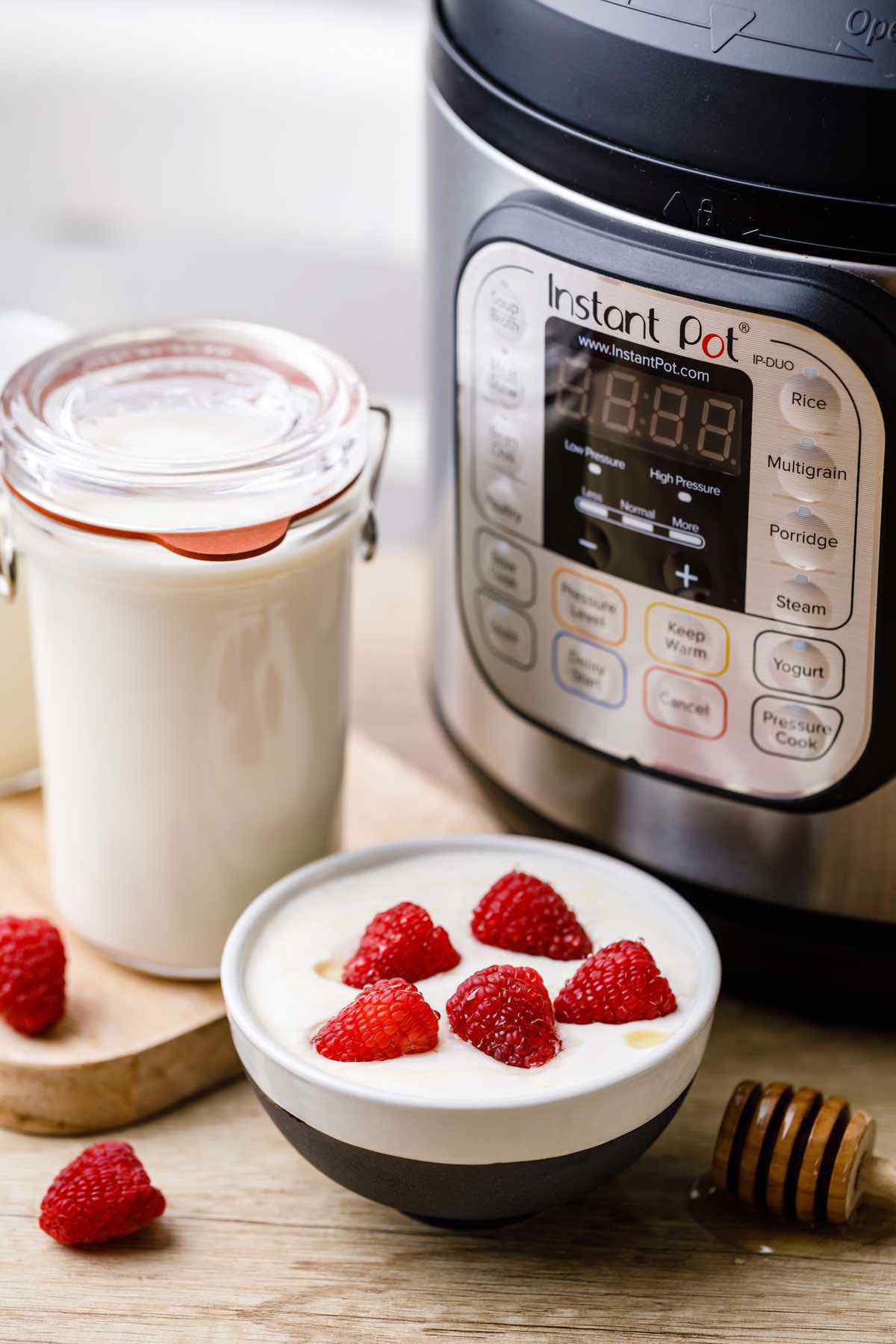 Homemade Instant Pot Yogurt