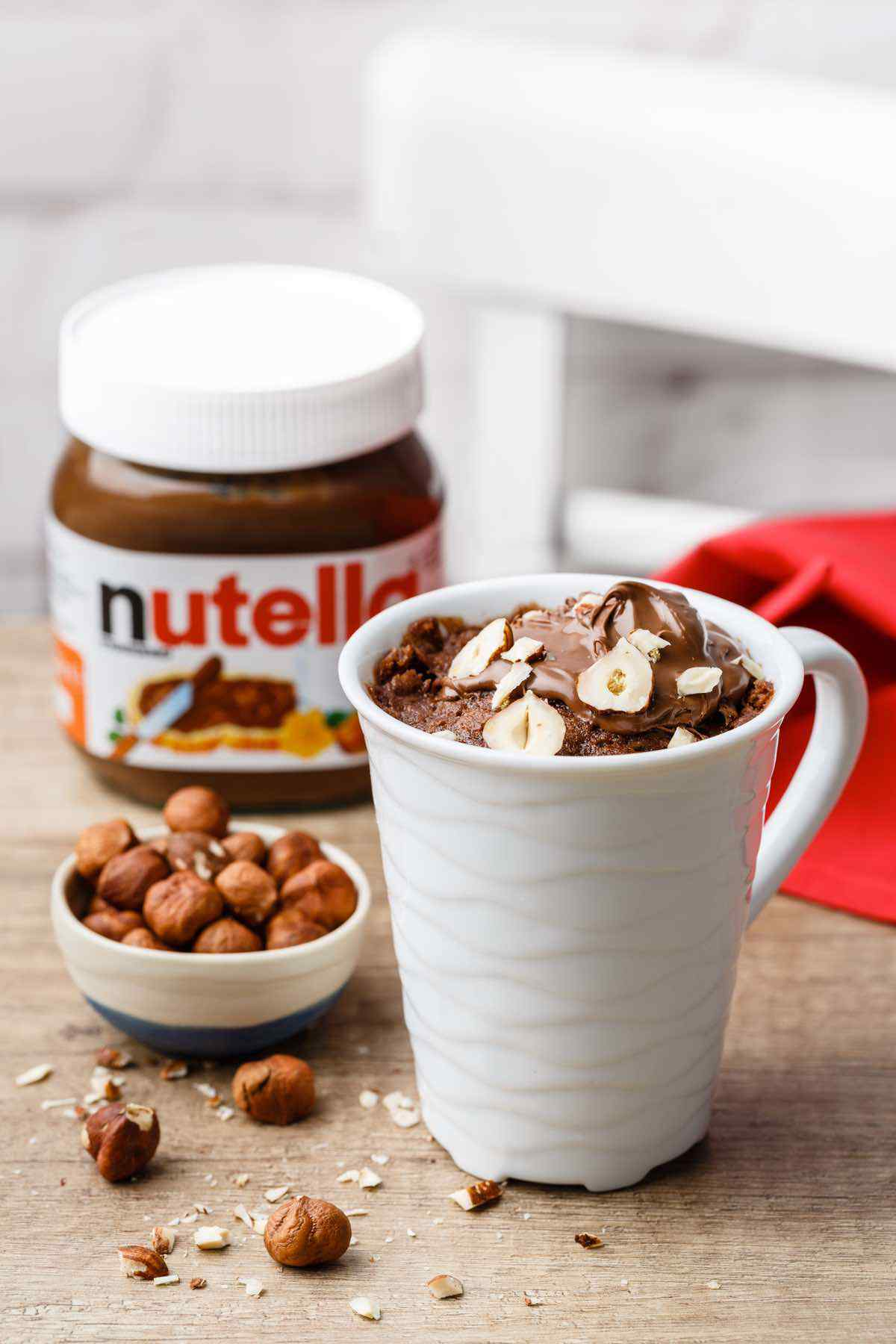 5-Ingredient Nutella Mug Cake Recipe