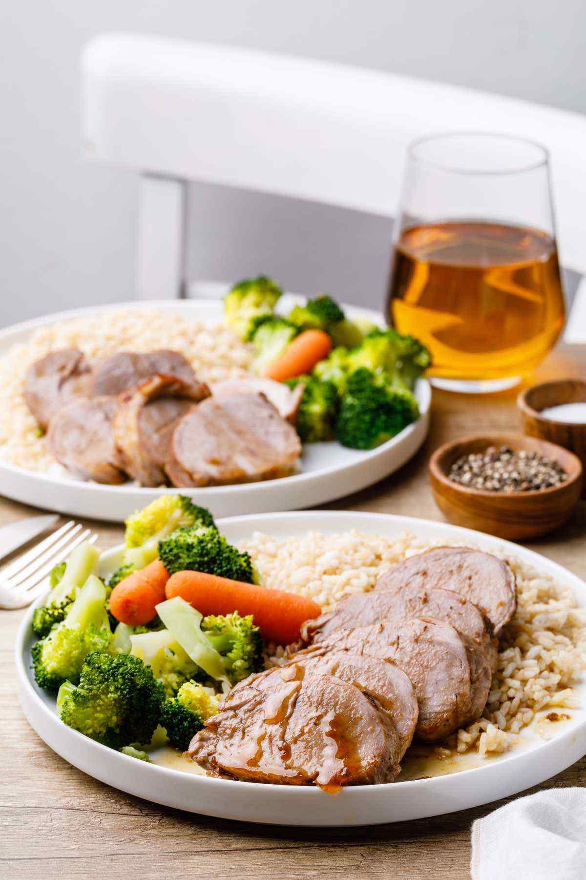 Apple Cider Vinegar Instant Pot Pork Tenderloin