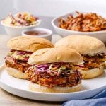 Easy BBQ Instant Pot Pulled Pork
