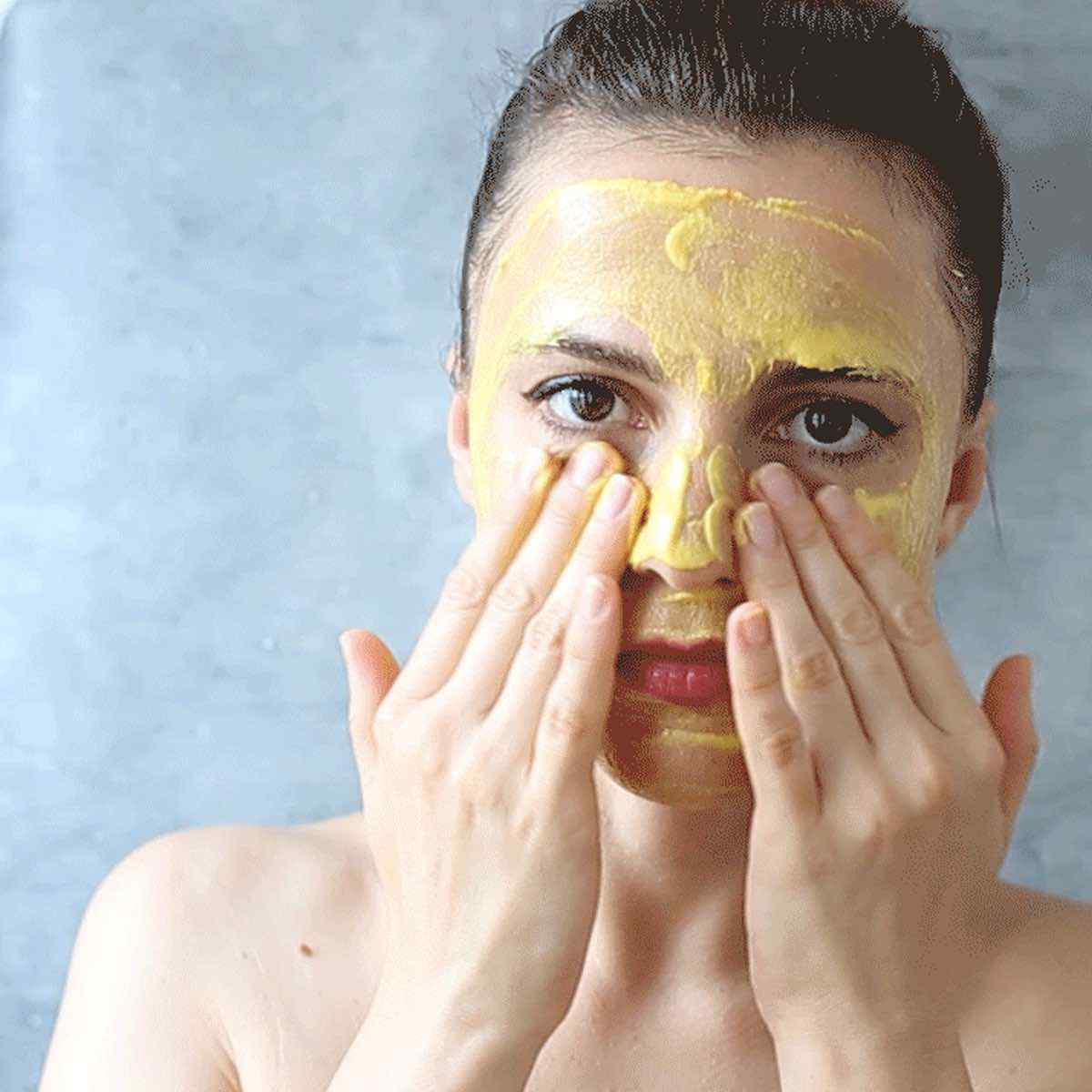 Turmeric Curcumin Face Mask