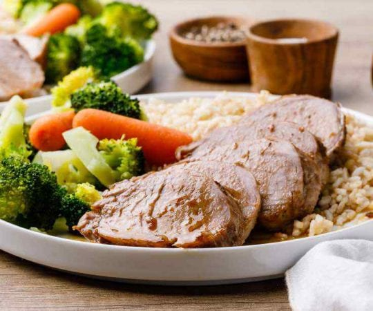 Apple Cider Vinegar Instant Pot Pork Tenderloin