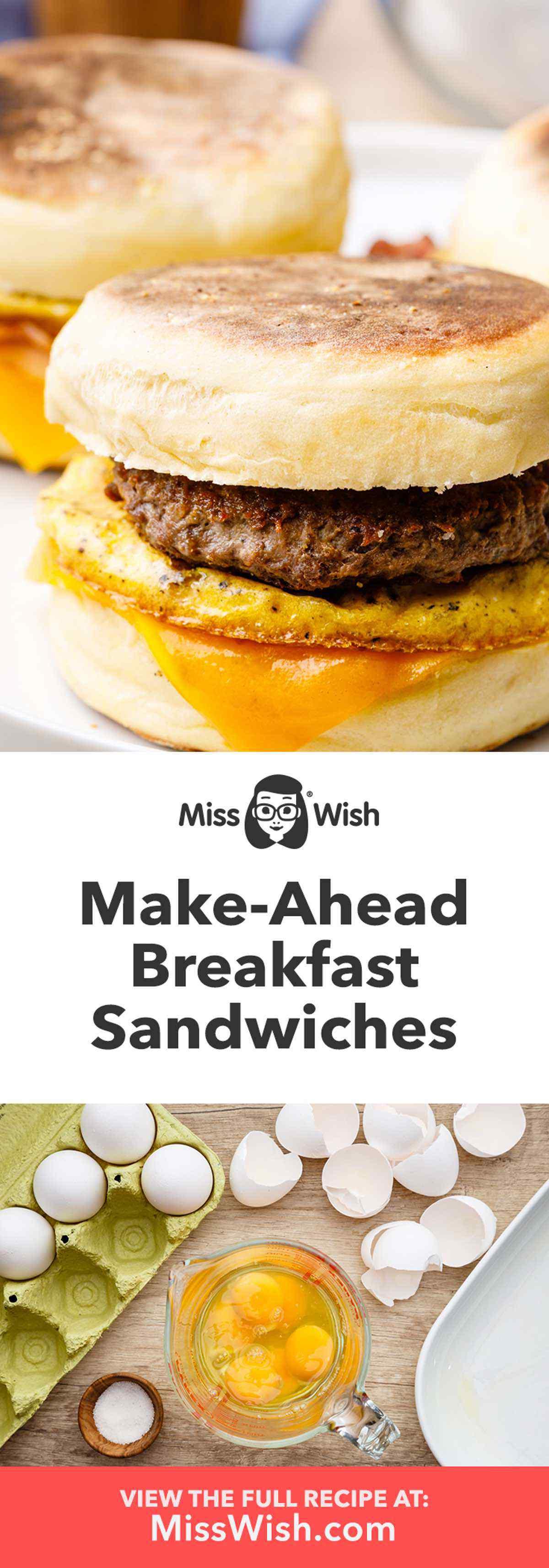 Make-Ahead Breakfast Sandwiches