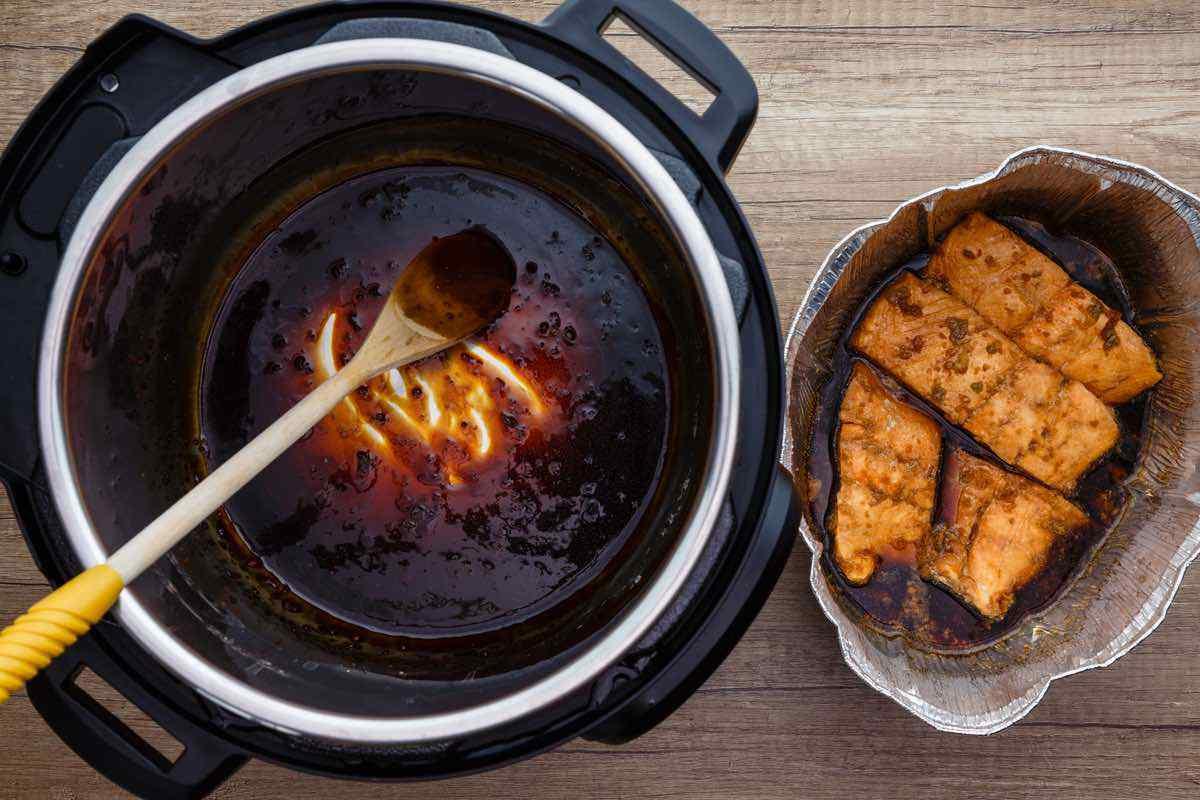 Instant Pot Teriyaki Salmon