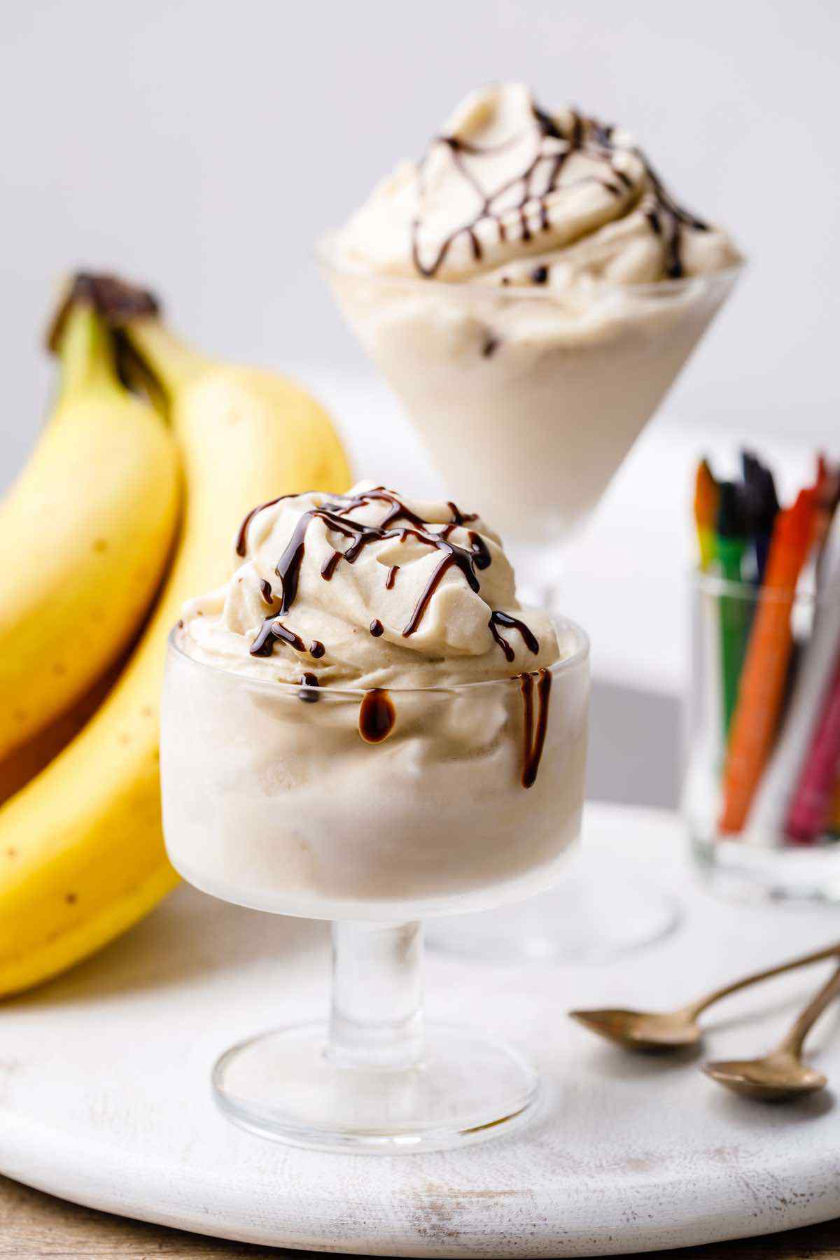 3-Ingredient Banana Ice Cream