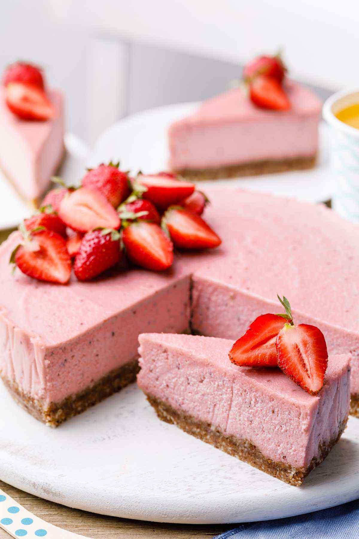 Dairy-Free Paleo Cheesecake