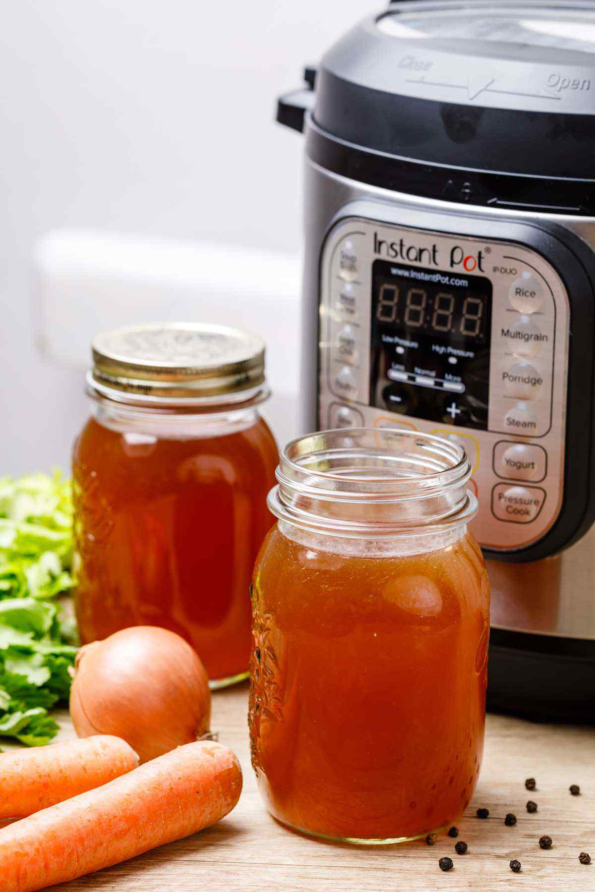 Collagen-Rich Instant Pot Bone Broth