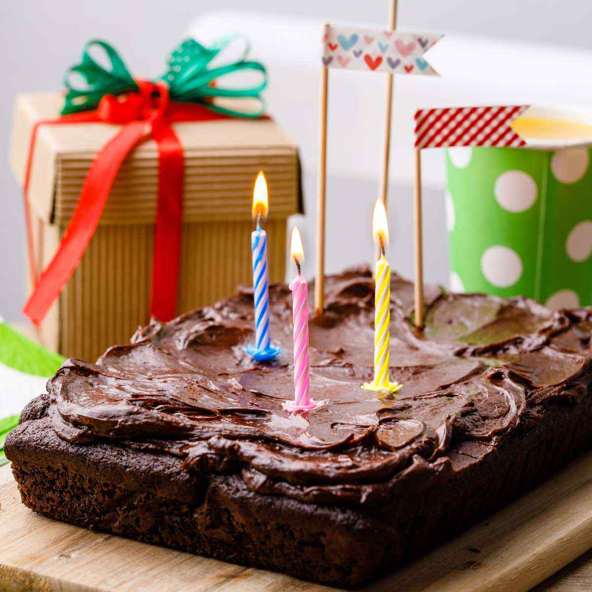 Excellent Double Chocolate Almond Flour Sheet Birthday Cake Yum Miss Wish Funny Birthday Cards Online Inifodamsfinfo
