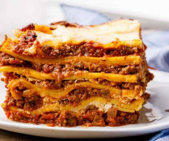 Make-Ahead Lasagna