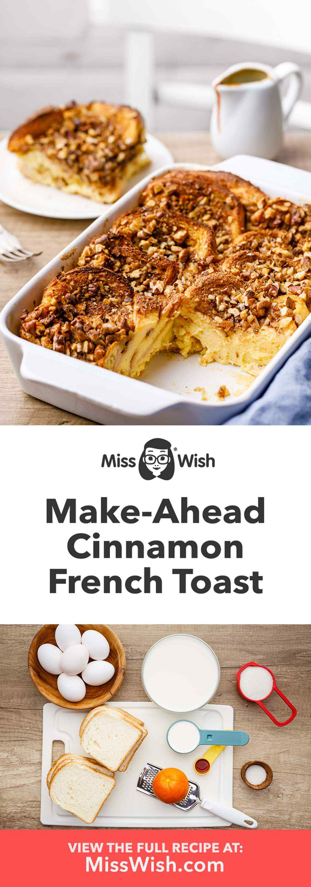 Make-Ahead Cinnamon French Toast