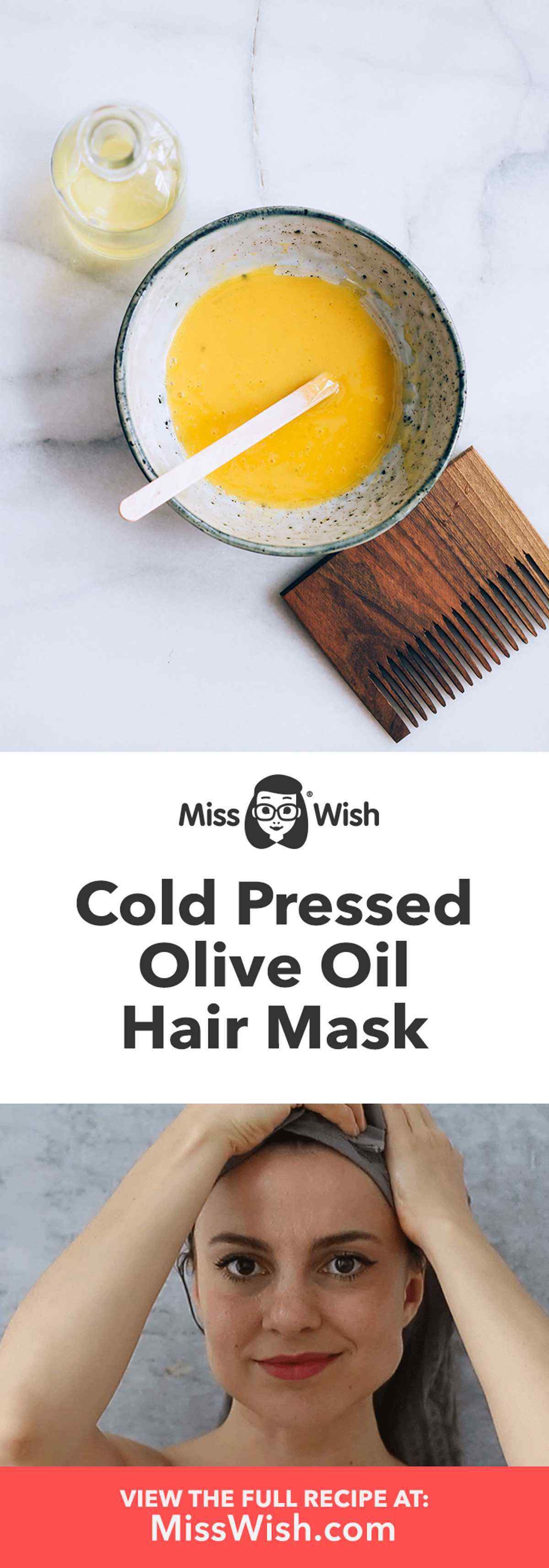 Cold Pressed Olive Oil Hair Mask