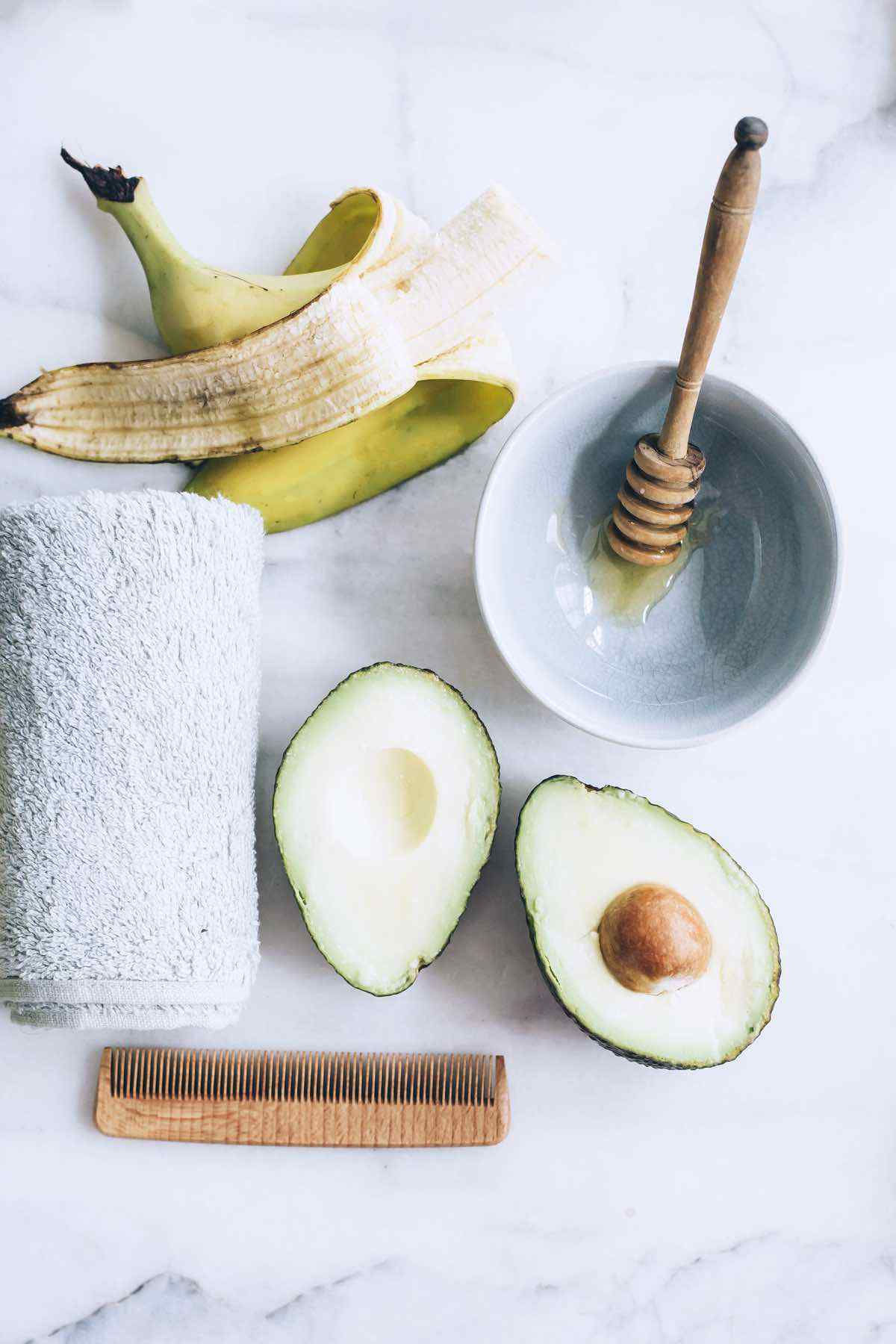 3-Ingredient Avocado Hair Mask