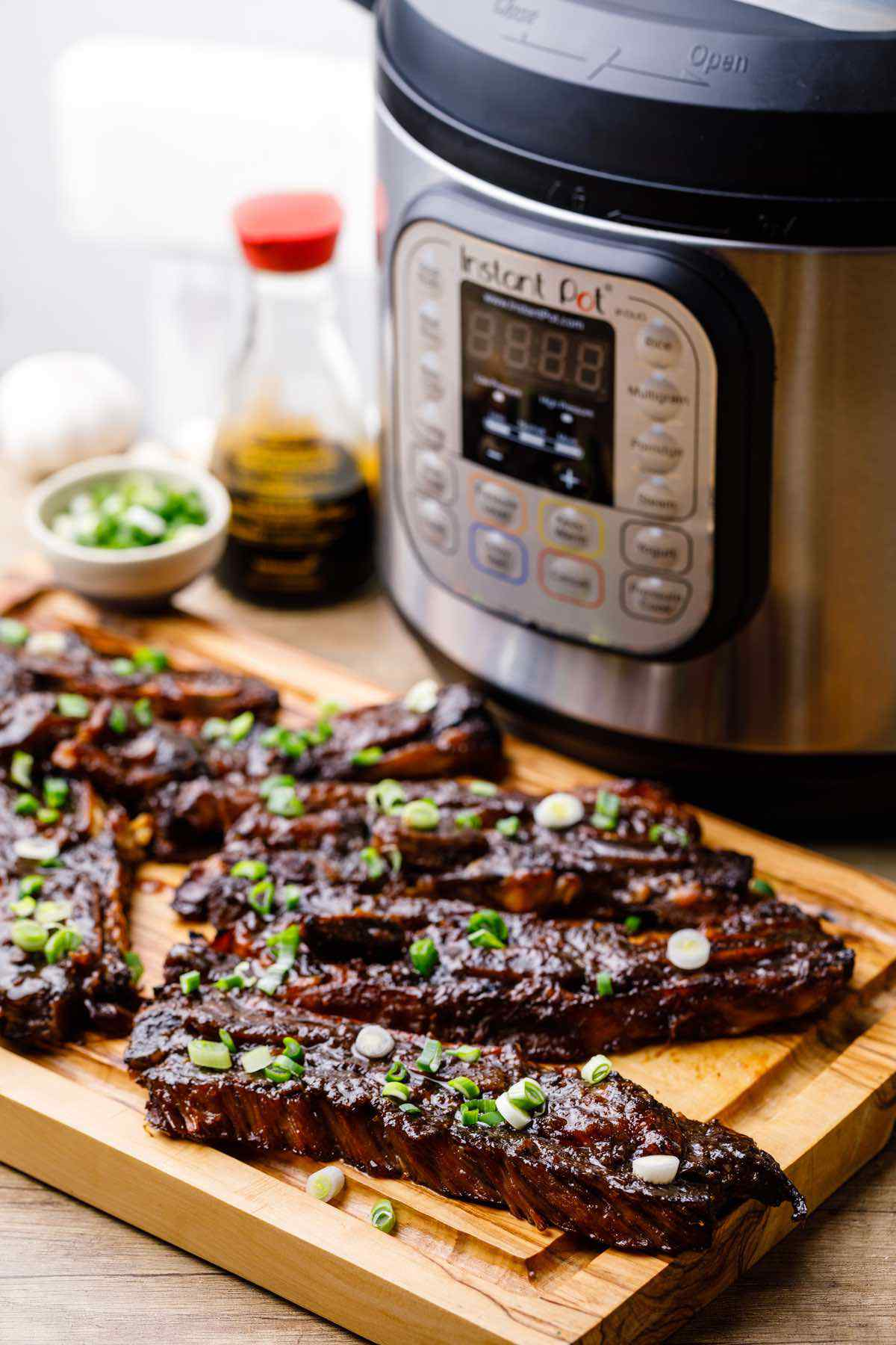 Instant Pot Korean Short Ribs