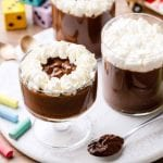 6-Ingredient Chocolate Pudding Cups