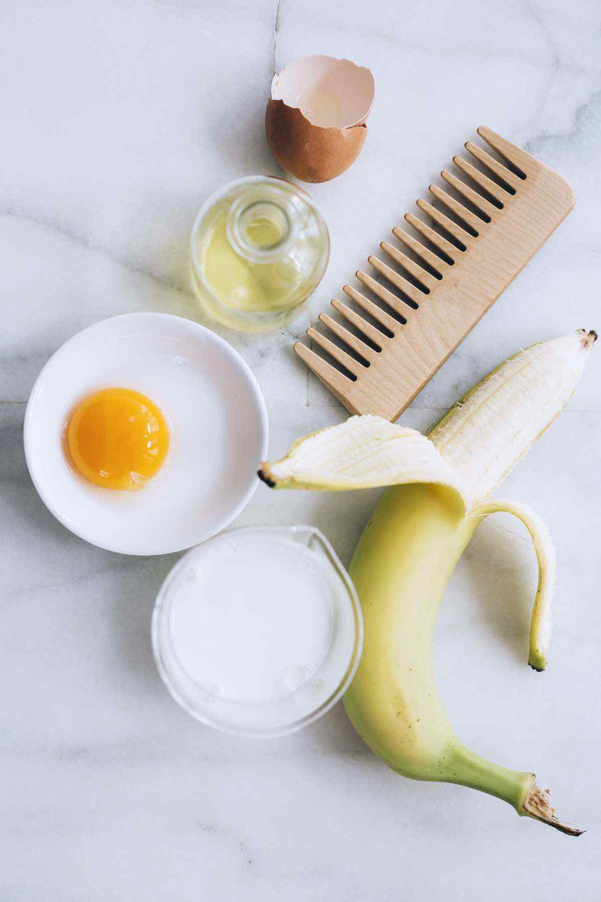Easy DIY Egg Hair Mask to Repair Damaged Hair